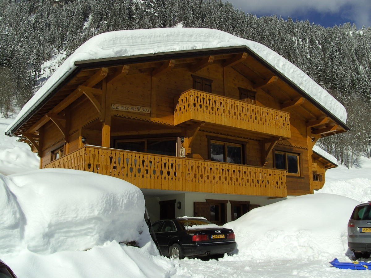 Chatel (Fr), ben. etage in chalet max. 5 pers. v.a.€ 400,-  header afbeelding